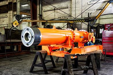 Gyro-Therm Burners natural gas rotary kiln burners