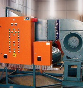 Hot Gas Generators Industry Applications: Hot air for any process